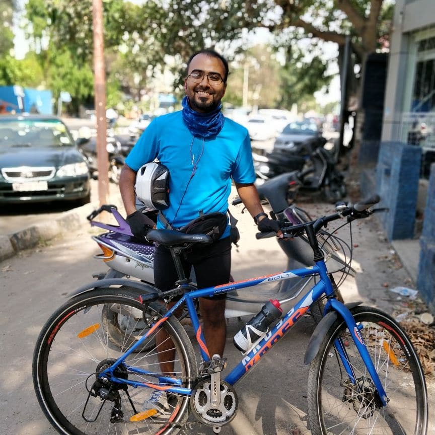 Cycling- live healthy india